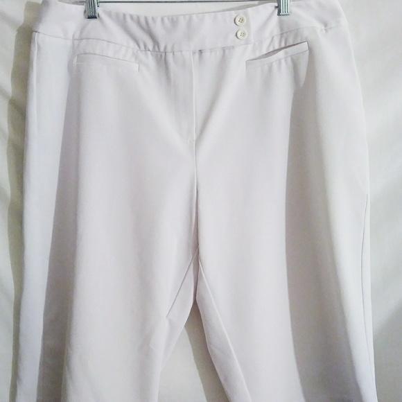 Dress Barn Shorts Dressbarn Plus Size White Dress Size 16 Poshmark